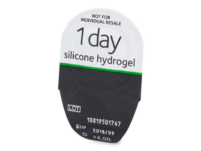 Vzhled blistru s čočkou - MyDay daily disposable (90čoček)