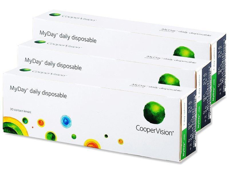 Jednodenní kontaktní čočky - MyDay daily disposable (90čoček)