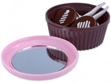 Příslušenství - Kazetky se zrcátkem - Kazetka se zrcátkem Muffin - růžová