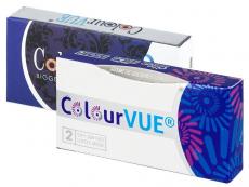 Barevné a Crazy kontaktní čočky - ColourVUE - Glamour (2čočky)