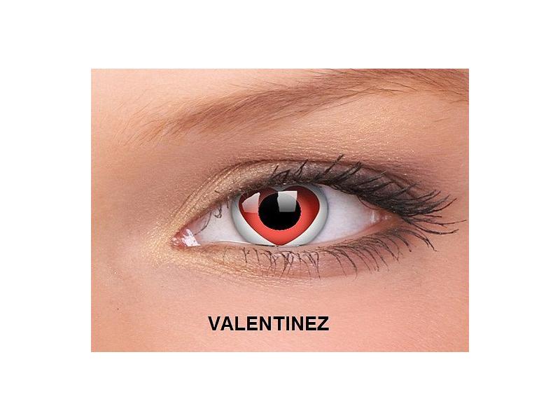 Valentinez - ColourVUE Crazy Lens - nedioptrické (2čočky)