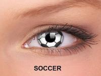 ColourVUE Crazy Lens - nedioptrické (2čočky) - Soccer