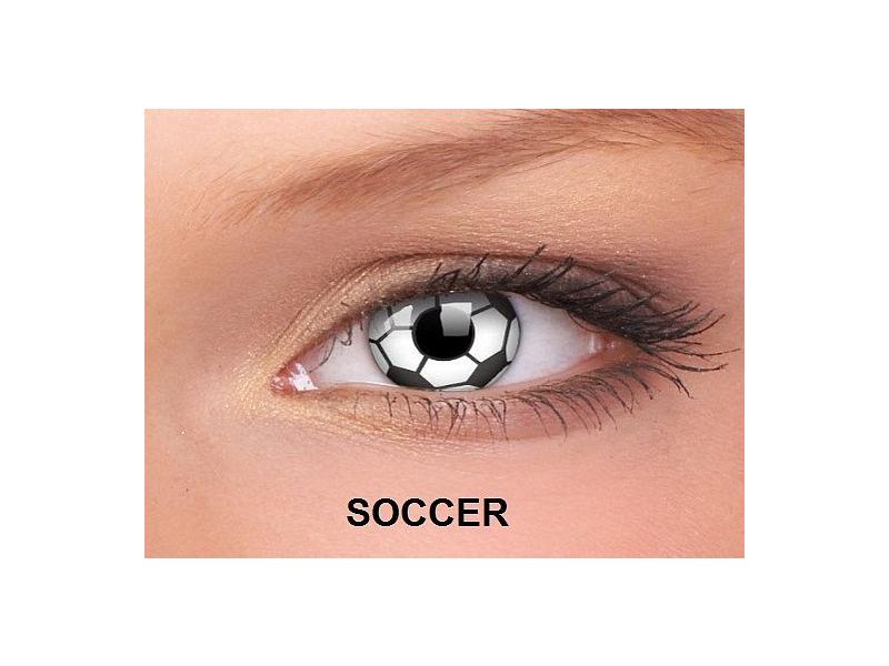 Soccer - ColourVUE Crazy Lens - nedioptrické (2čočky)