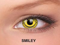 ColourVUE Crazy Lens - nedioptrické (2čočky) - Smiley