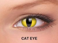 ColourVUE Crazy Lens - nedioptrické (2čočky) - Cat Eye