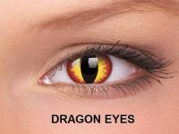 ColourVUE Crazy Lens - nedioptrické (2čočky) - Dragon Eyes