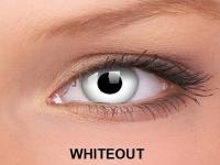 ColourVUE Crazy Lens - nedioptrické (2čočky) - WhiteOut