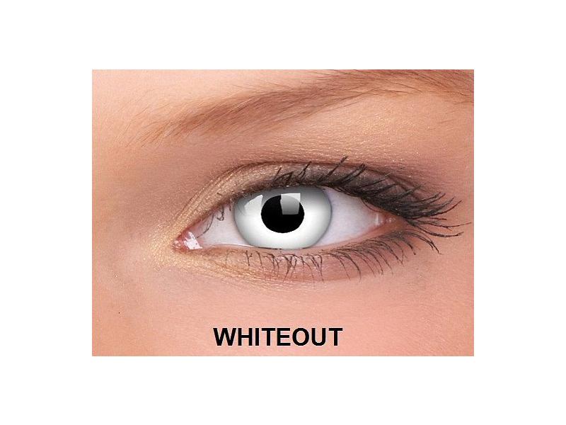 WhiteOut - ColourVUE Crazy Lens - nedioptrické (2čočky)