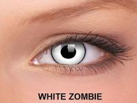 ColourVUE Crazy Lens - nedioptrické (2čočky) - White Zombie
