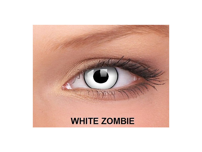 White Zombie - ColourVUE Crazy Lens - nedioptrické (2čočky)