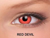 ColourVUE Crazy Lens - nedioptrické (2čočky) - Red Devil