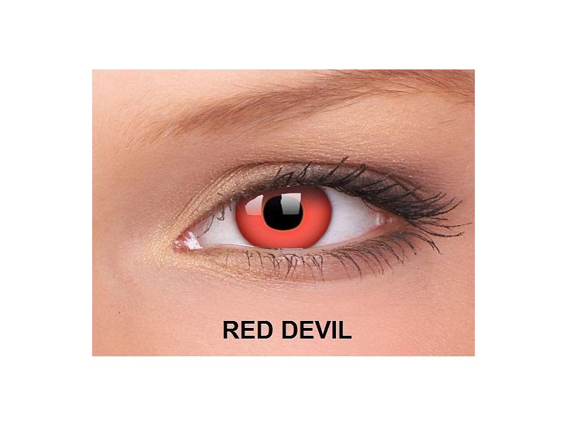 Red Devil - ColourVUE Crazy Lens - nedioptrické (2čočky)