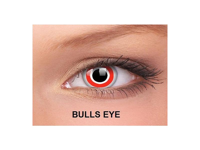 Bulls Eye - ColourVUE Crazy Lens - nedioptrické (2čočky)