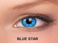 ColourVUE Crazy Lens - nedioptrické (2čočky) - Blue Star