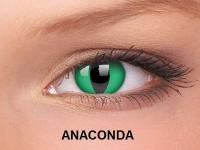 ColourVUE Crazy Lens - nedioptrické (2čočky) - Anaconda