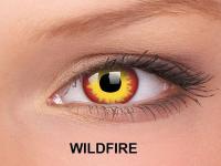 ColourVUE Crazy Lens - nedioptrické (2čočky) - WildFire