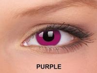 ColourVUE Crazy Lens - nedioptrické (2čočky) - Fialová