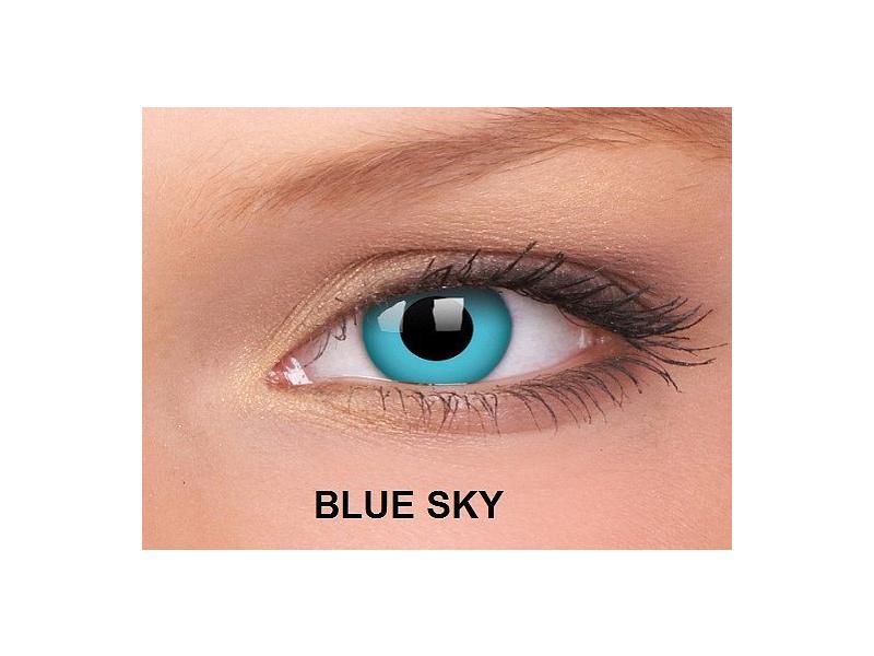 Blue Sky - ColourVUE Crazy Lens - nedioptrické (2čočky)