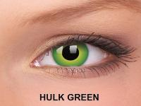 ColourVUE Crazy Lens - nedioptrické (2čočky) - Hulk Green