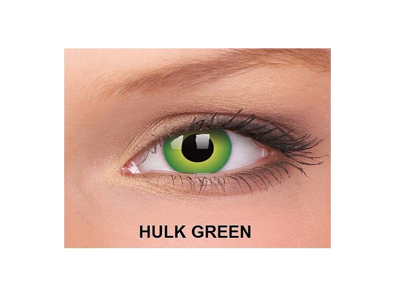 Hulk Green - ColourVUE Crazy Lens - nedioptrické (2čočky)