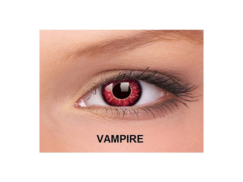 Vampire - ColourVUE Crazy Lens - nedioptrické (2čočky)