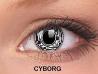 ColourVUE Crazy Lens - nedioptrické (2čočky) - Cyborg