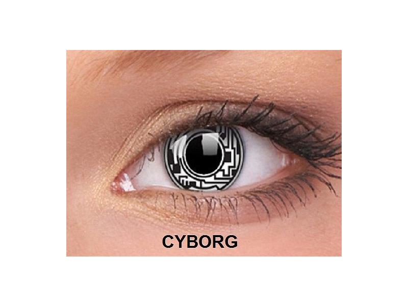 Cyborg - ColourVUE Crazy Lens - nedioptrické (2čočky)