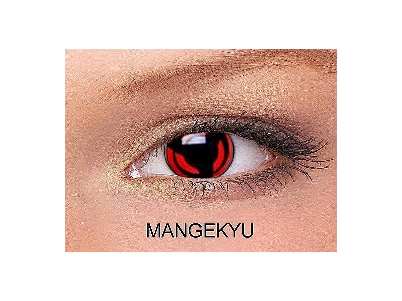Mangekyu - ColourVUE Crazy Lens - nedioptrické (2čočky)