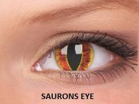 ColourVUE Crazy Lens - nedioptrické (2čočky) - Saurons Eye