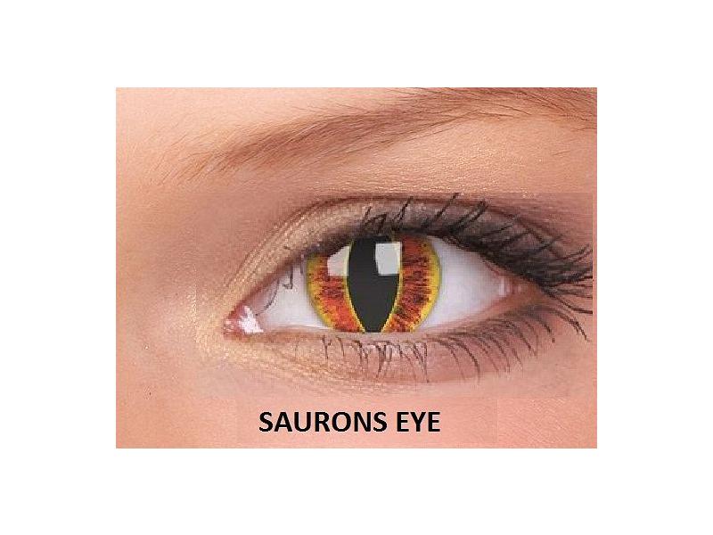 Saurons Eye - ColourVUE Crazy Lens - nedioptrické (2čočky)