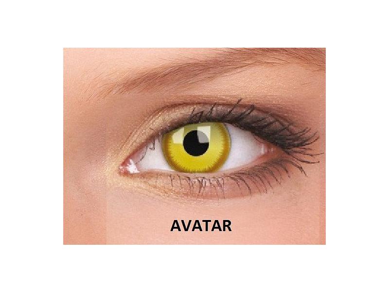 Avatar - ColourVUE Crazy Lens - nedioptrické (2čočky)