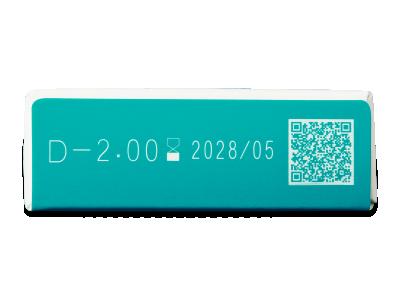 TopVue Blue Blocker (5 čoček) - Náhled parametrů čoček