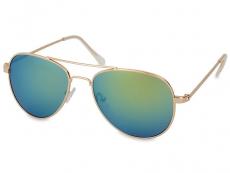 Sluneční brýle - Sluneční brýle Gold Pilot - Blue/Green