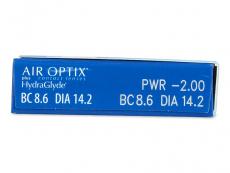 Air Optix plus HydraGlyde (3čočky)