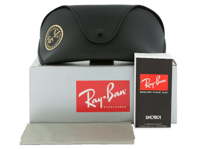 Sluneční brýle Ray-Ban RB4068 601  - Obsah balení (ilustrační foto)