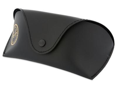 Sluneční brýle Ray-Ban RB4068 894/58  - Originální kožené pouzdro (ilustrační foto)