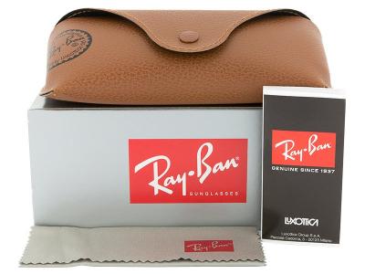 Sluneční brýle Ray-Ban RB3449 001/13  - Obsah balení (ilustrační foto)