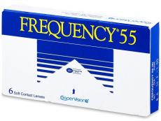 Kontaktní čočky - Frequency 55 (6čoček)