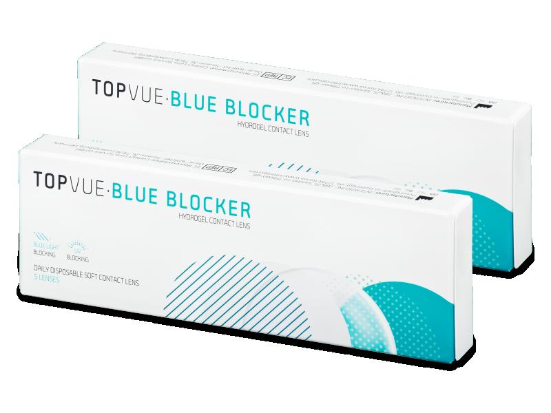 TopVue Blue Blocker (5párůčoček) - Jednodenní kontaktní čočky