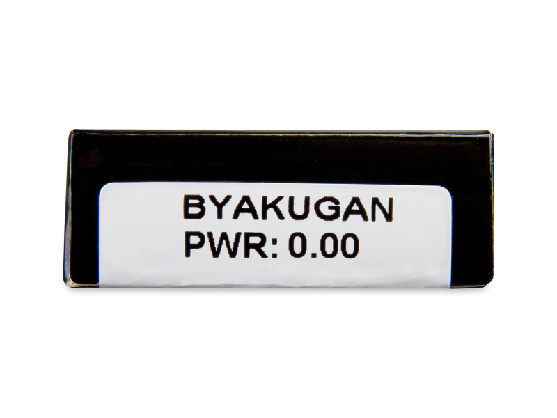 CRAZY LENS - Byakugan - nedioptrické jednodenní (2 čočky)