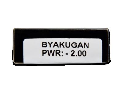 CRAZY LENS - Byakugan - dioptrické jednodenní (2 čočky)