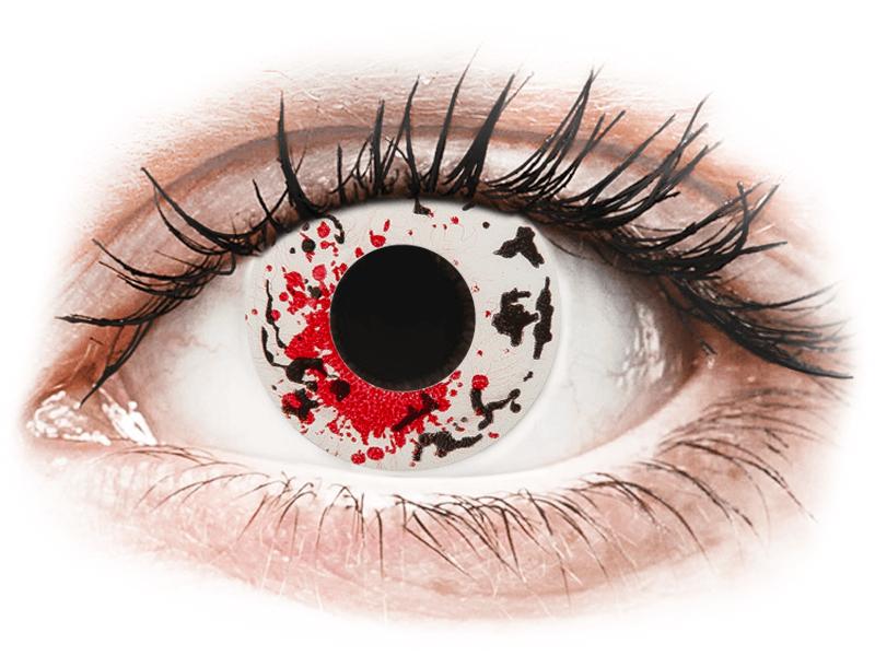 CRAZY LENS - Graffiti - nedioptrické jednodenní (2 čočky) - Barevné kontaktní čočky