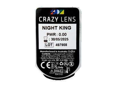CRAZY LENS - Night King - nedioptrické jednodenní (2 čočky)