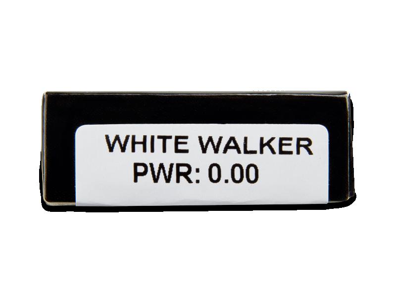 CRAZY LENS - White Walker - nedioptrické jednodenní (2 čočky)