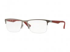 Obdélníkové brýlové obroučky - Ray-Ban RX6335 2620
