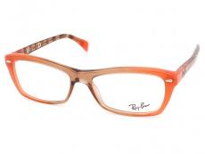 Obdélníkové brýlové obroučky - Ray-Ban RX5255 5487