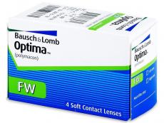 Kontaktní čočky Bausch and Lomb - Optima FW (4 čočky)