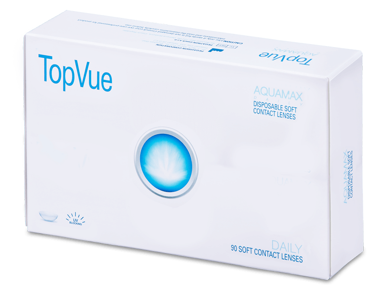 TopVue Daily (90 čoček) - Jednodenní kontaktní čočky