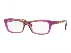 Obdélníkové brýlové obroučky - Ray-Ban RX5255 5489