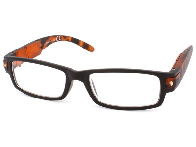 Dioptrické brýle na čtení Laim DL2017 - černé